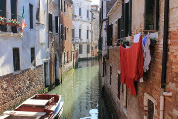 Beautiful Venice in spring