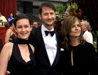 """IN THE BEDROOM"" DIRECTOR TODD FIELD AND FAMILY ARRIVE AT OSCARS."
