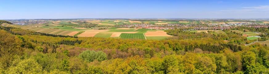 Panoramablick vom Heuchelberg