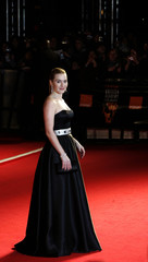 Actress Winslet arrives for the BAFTA awards in London