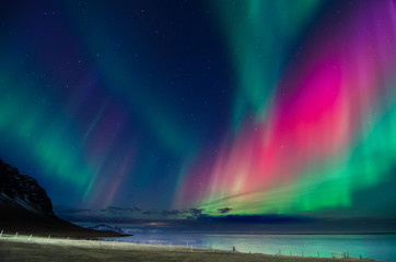 Printed roller blinds Northern lights Northern lights colors