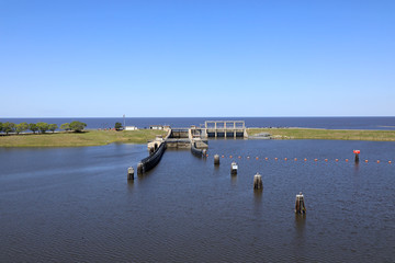 Lake Okeechobee anf the Port Mayaca Locks & Dam