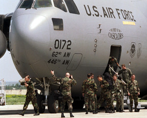 ELITE U.S. MILITARY INSTRUCTORS ARRIVE IN TBILISI.