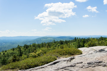 Idyllic view of Maine, Mount Major, USA