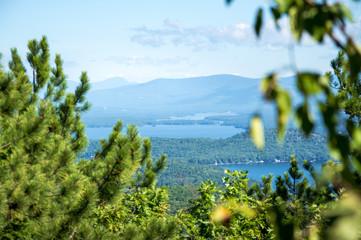 Idyllic Lake Winnipesaukee, Maine, USA