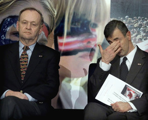 US AMBASSADOR CELLUCCI AND CANADIAN PM CHRETIEN.