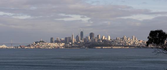 San Francisco California Downtown City Skyline Fisherman's Wharf New Construction