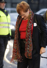 Finland's President Halonen arrives at the morning session of UN Climate Change Conference 2009 in Copenhagen