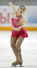 South Korea's Kim Yu-Na competes in the ladies free programme at the ISU Grand Prix of Figure Skating Cup of Russia in Moscow