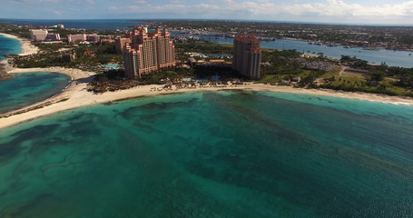 Aerial View of Bahamas