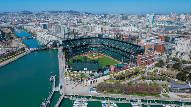 AT&T Park Aerial Photo