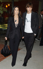 DEMI MOORE AND ASHTON KUTCHER ARRIVE FOR OPENING OF STELLA MCCARTNEYBOUTIQUE IN LOS ANGELES.