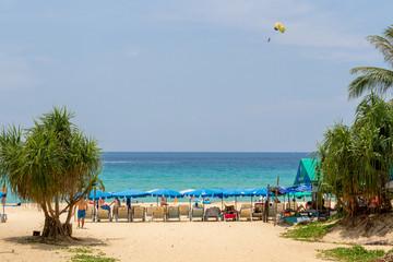 Karon beach in Phuket island Thailand