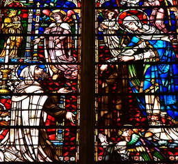 Metz, France - july 25 2016 : the cathedral
