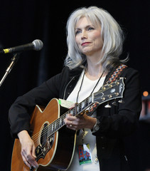 Emmylou Harris performs at the Bridge School Benefit Concert in Mountain View