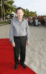 "Actor Michael Emerson poses at the red carpet event for the hit TV show ""Lost"" during their Season 3 World Premiere in Honolulu"