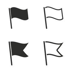 Flag icon set.
