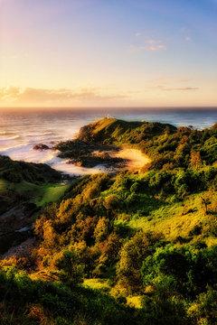 Sunrise Over Tracking Point Lighthouse, Port Macquarie