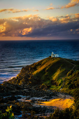 Sunrise over Tracking Point Lighthouse, Port Macquarie