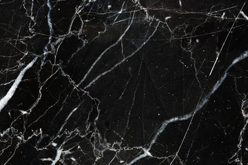 Black Marquina marble texture for background