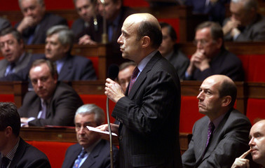 FRENCH FORMER PRIME MINISTER AND BORDEAUX MAYOR ALAIN JUPPE AT NATIONALASSEMBLY.