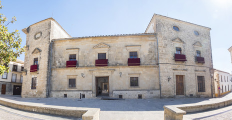 Vazquez de Molina Palace (Palace of the Chains), Ubeda, Spain