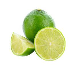 Lemon isolated on the background