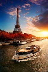 Wall Mural - Eiffel Tower in the autumn