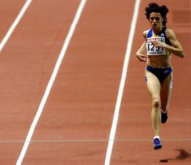Romanian Iagar won 1500 heat at European Indoor Athletics Championships.