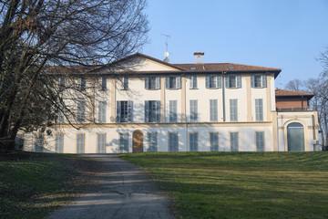 Villa Scaccabarozzi in Usmate (Italy)