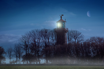 Fehmarn-Leuchturm Staberhuk