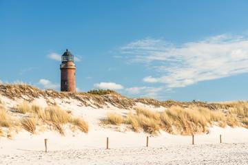 Leuchtturm in Darßer Ort bei Prerow, Ostsee