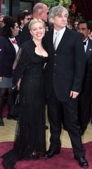 AUSTRALIAN CATHERINE MARTIN AND HUSBAND BAZ LUHRMANN ARRIVE AT OSCARS.
