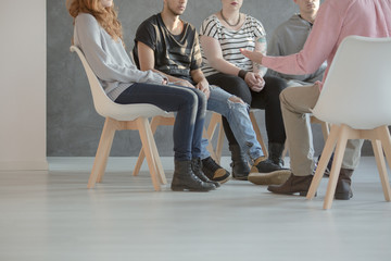 Group therapy for teenagers