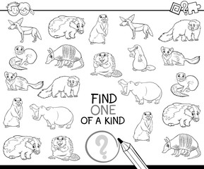 one of a kind coloring book