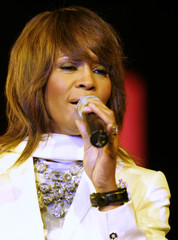 American singer Whitney Houston performs at the Mawazine Festival in Rabat