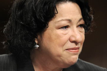 U.S. Supreme Court nominee Judge Sonia Sotomayor answers questions during the third day of her U.S. Senate Judiciary Committee confirmation hearings on Capitol Hill in Washington