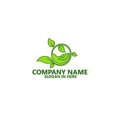Nature Leaf Logo Template