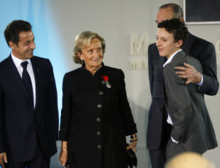 France's former first lady Bernadette Chirac receives Legion of Honour award in Paris