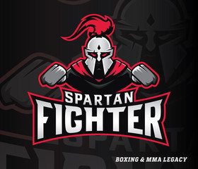 Spartan boxer fighter