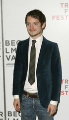 """Actor Elijah Wood arrives to attend premiere of """"Day Zero"""" during Tribeca Film Festival in New York"""