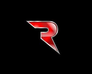 R Initial Letter Logo