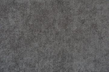 Texture of dense fabric, gray
