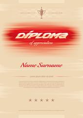 diploma of appreciation
