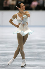 Meier of Switzerland performs during her free programme of Figure Skating Japan Open in Saitama, north of Tokyo