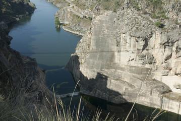 Esla river canyon. Zamora (Spain)