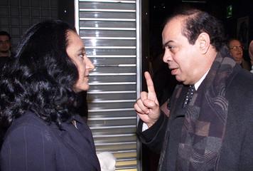 EGYPTIAN MOVIE STAR AL-MONTASER BELAH DURING THE PREMIER OF DISNEY'SARABIC VERSION OF THE CARTOON ...