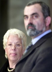UN WAR CRIMES PROSECUTOR CARLA DEL PONTE ATTENDS A NEWS CONFERENCE WITHYUGOSLAV JUSTICE ...
