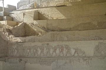 The Museo Cao & El Brujo archaeological complex, north of Trujillo in La Libertad province, Peru.
