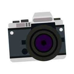 camera photo picture travel equipment vector illustration